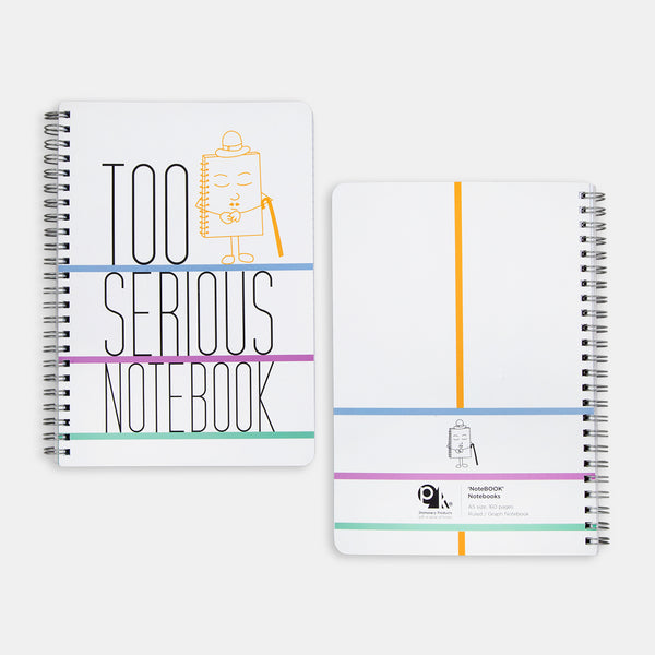 NoteBOOK Notebooks: TOO SERIOUS