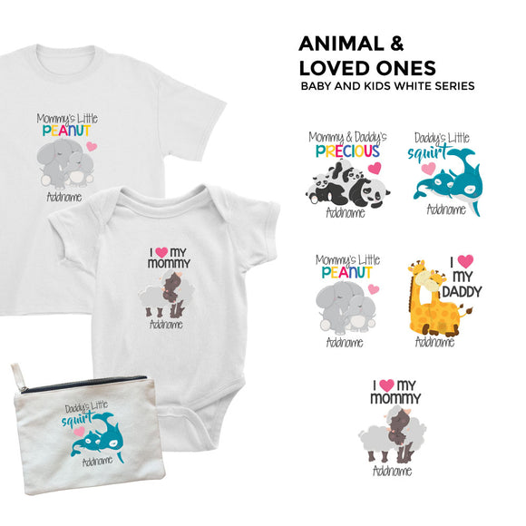 Animals Loved Ones White