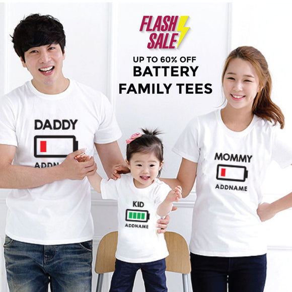 FLASH SALE - Battery Addname Family Edition