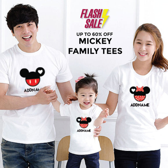 FLASH SALE - Mickey and Minnie Love Family Edition