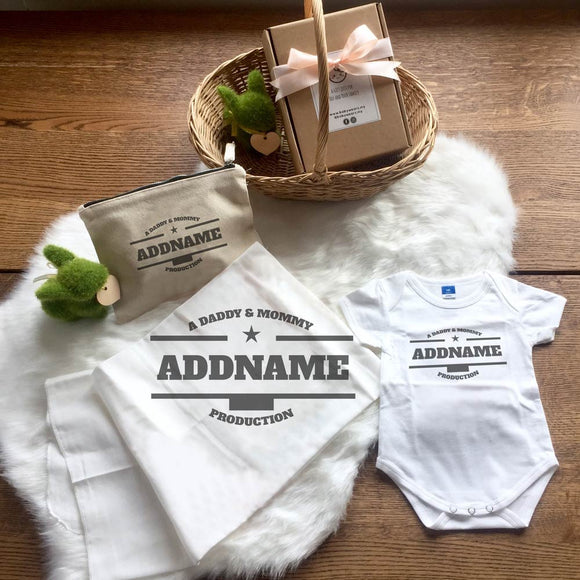 Daddy & Mommy Production Newborn Gift Set