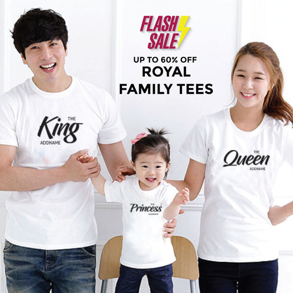 FLASH SALE - Royal Addname Family Edition