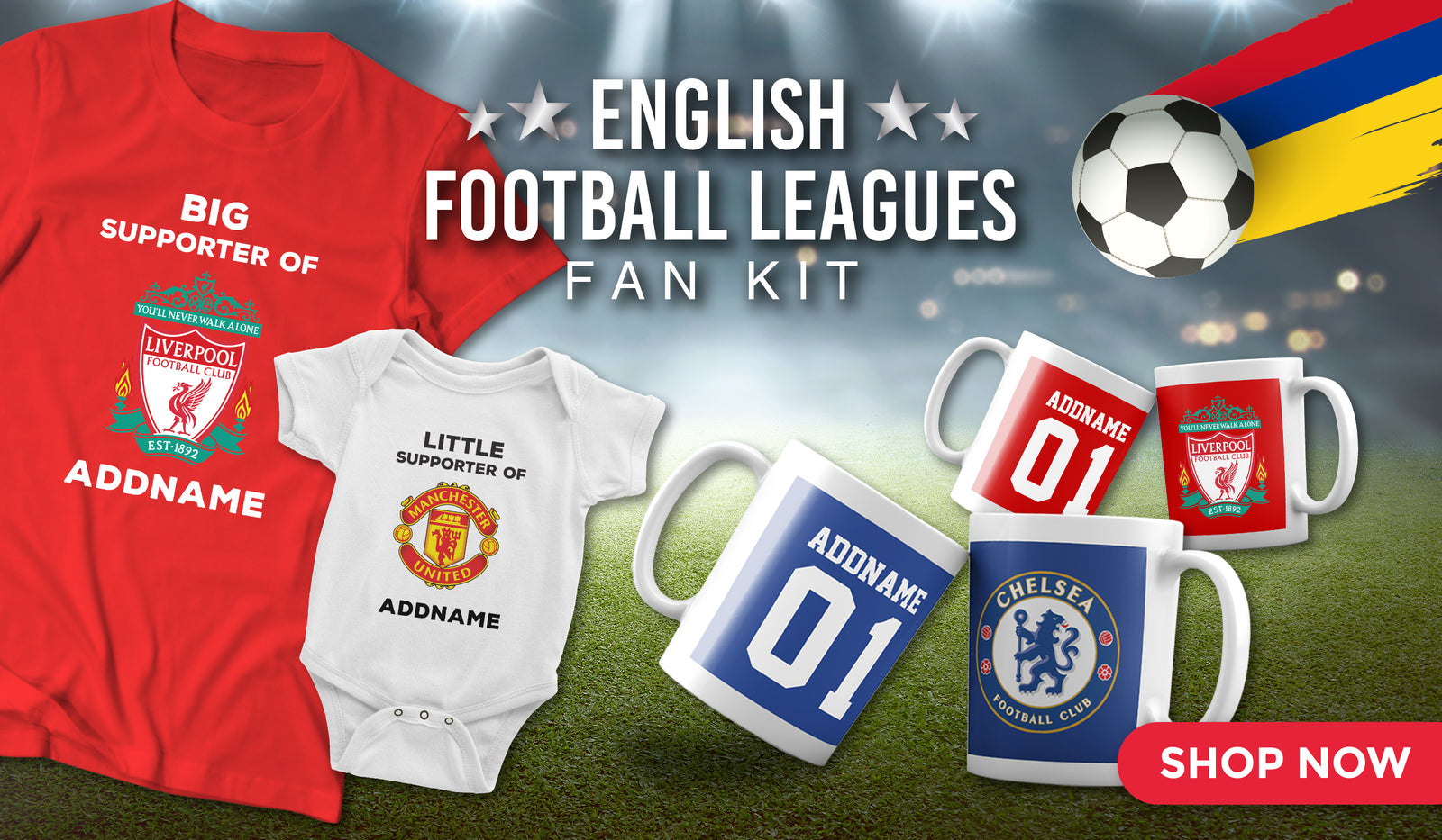 ANY NAME AND AGE PERSONALISED FUN FOOTBALL BIRTHDAY BADGE BRAND NEW GIFTS