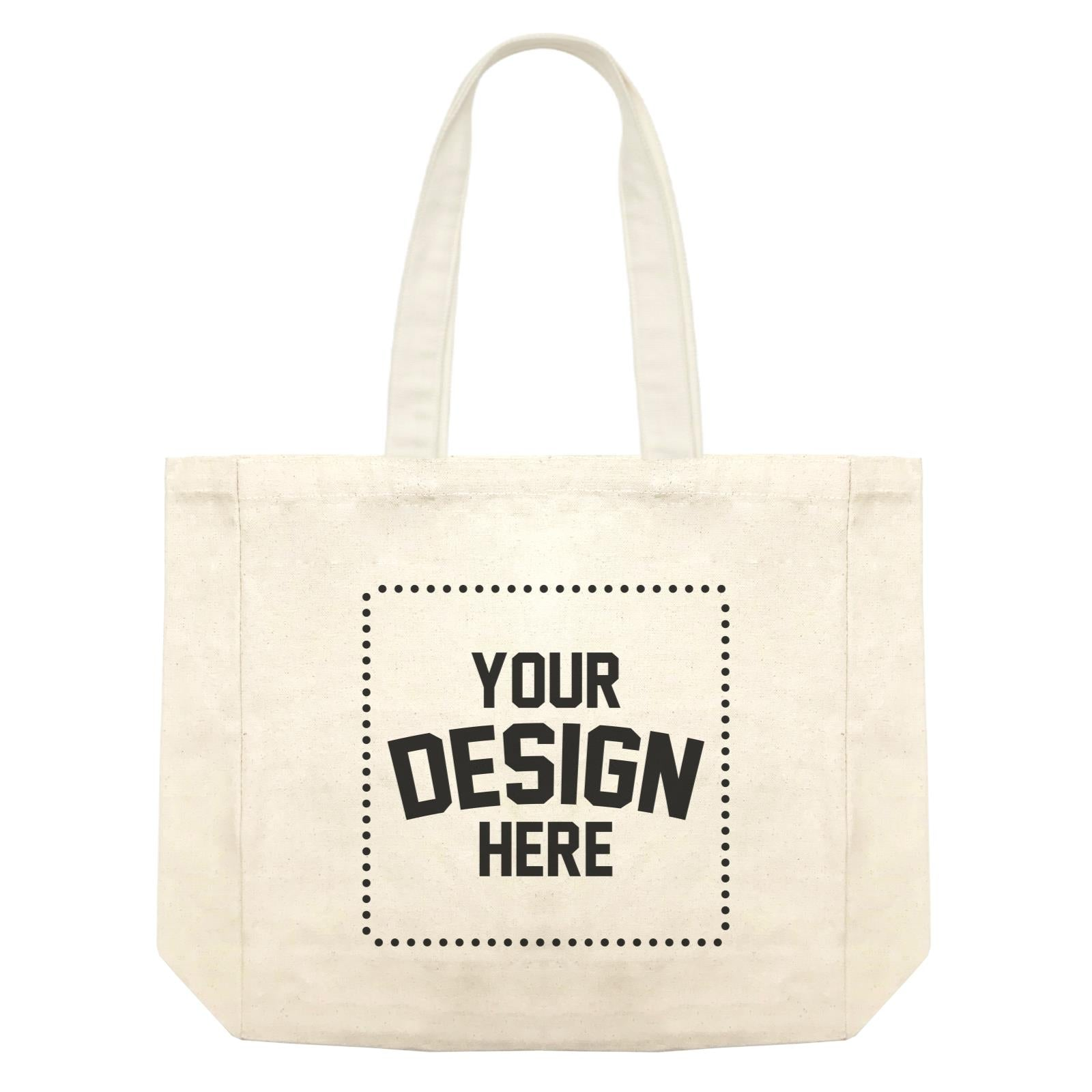 Custom Your Own Design Shopping Bag