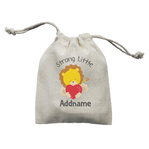 Animal Hearts Strong Little Lion Addname Mini Accessories Mini Pouch