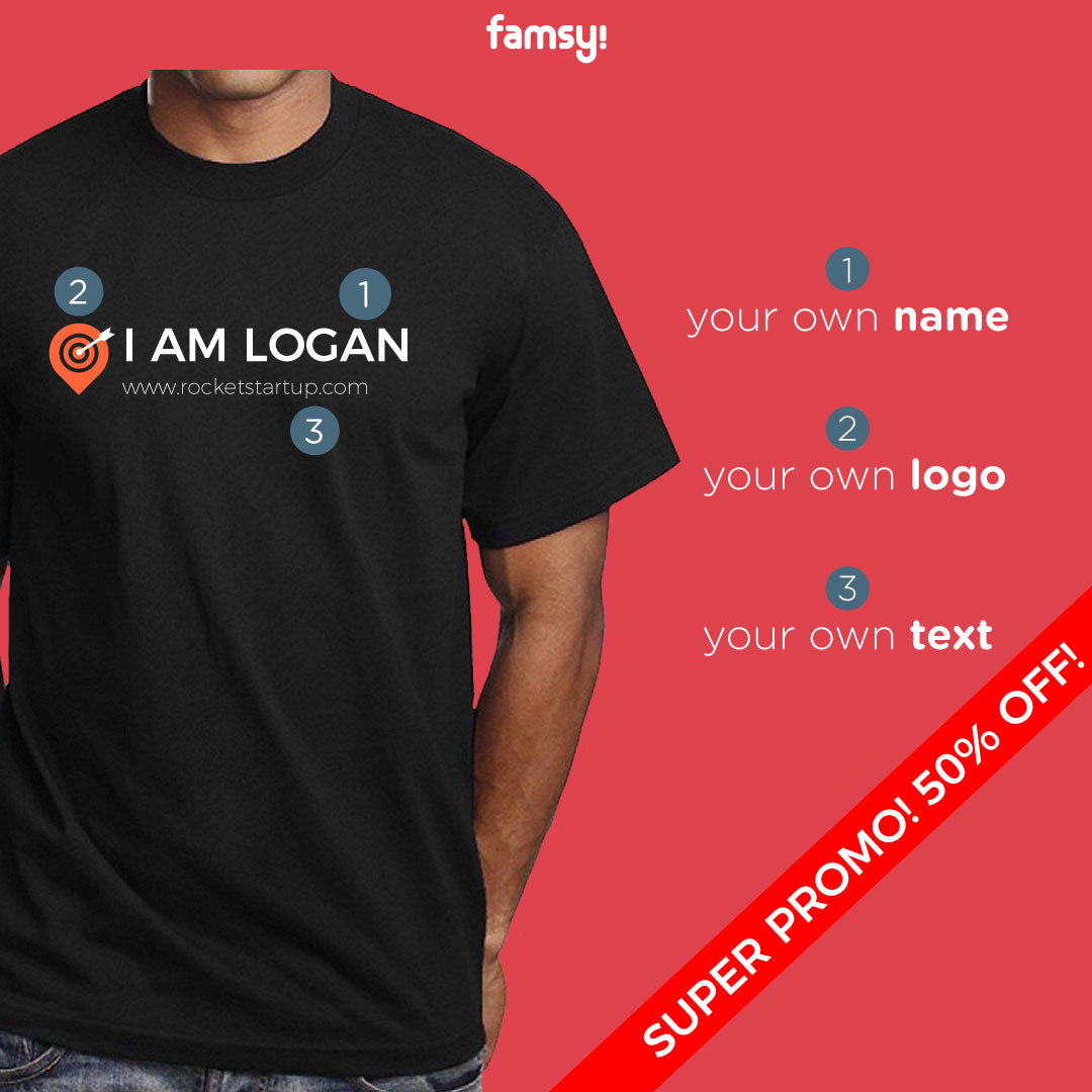 Corporate Custom Your Own Standard Company Name Add Text Or Slogan Unisex T-Shirt