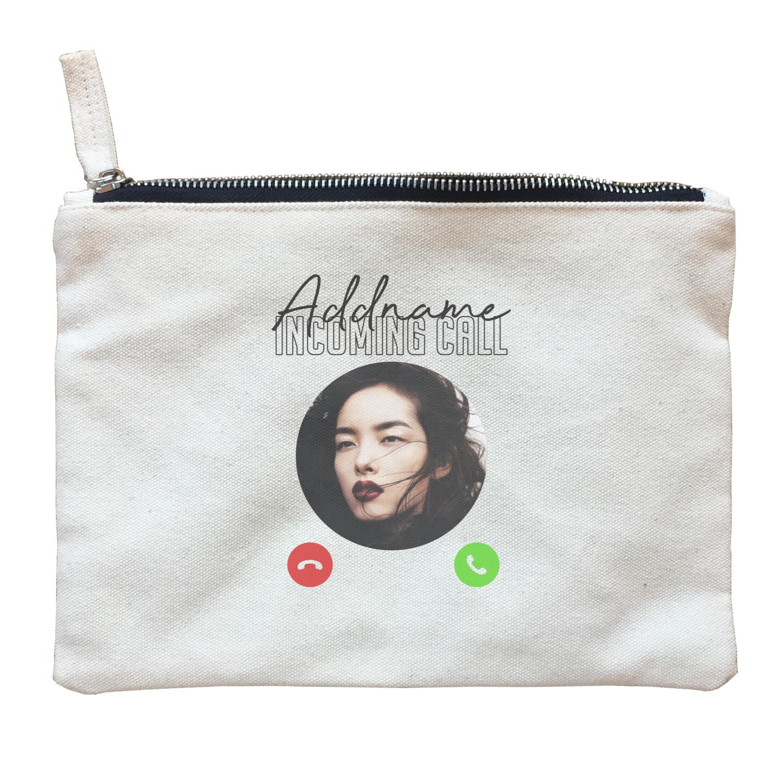 Photo Gift Series Incoming Call Zipper Pouch