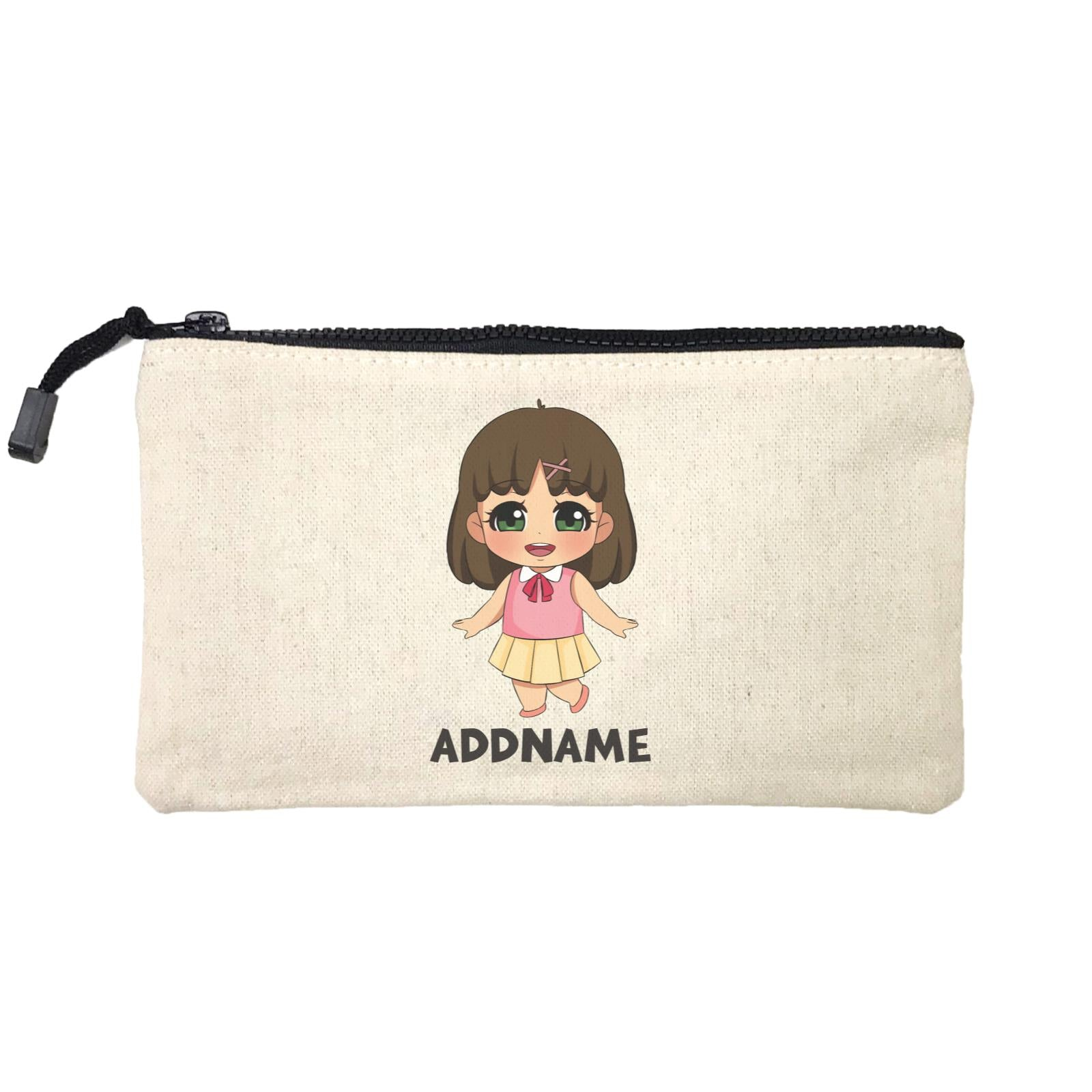 Children's Day Gift Series Little Chinese Girl Addname SP Stationery Pouch