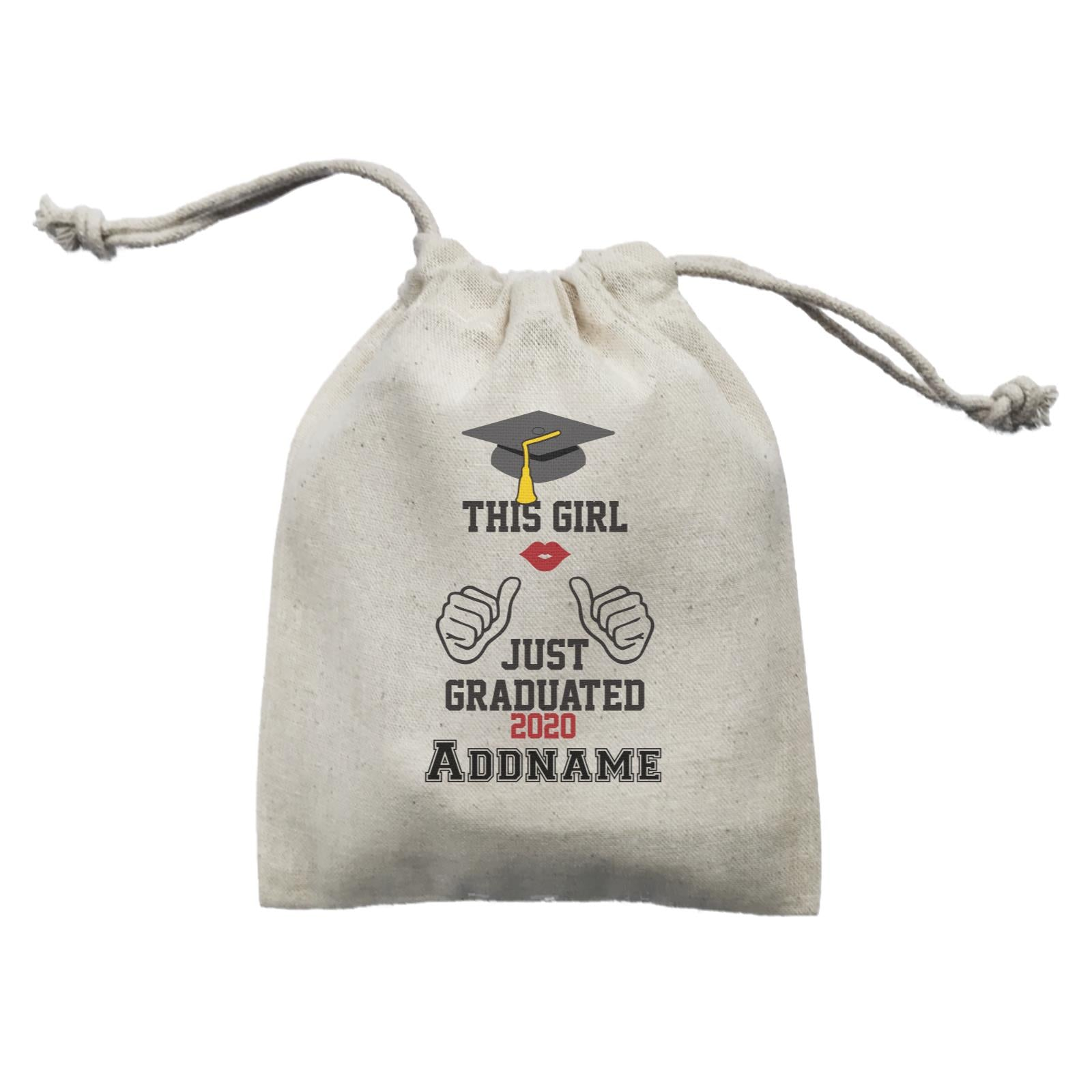 Graduation Series This Girl Just Graduated Mini Accessories Mini Pouch