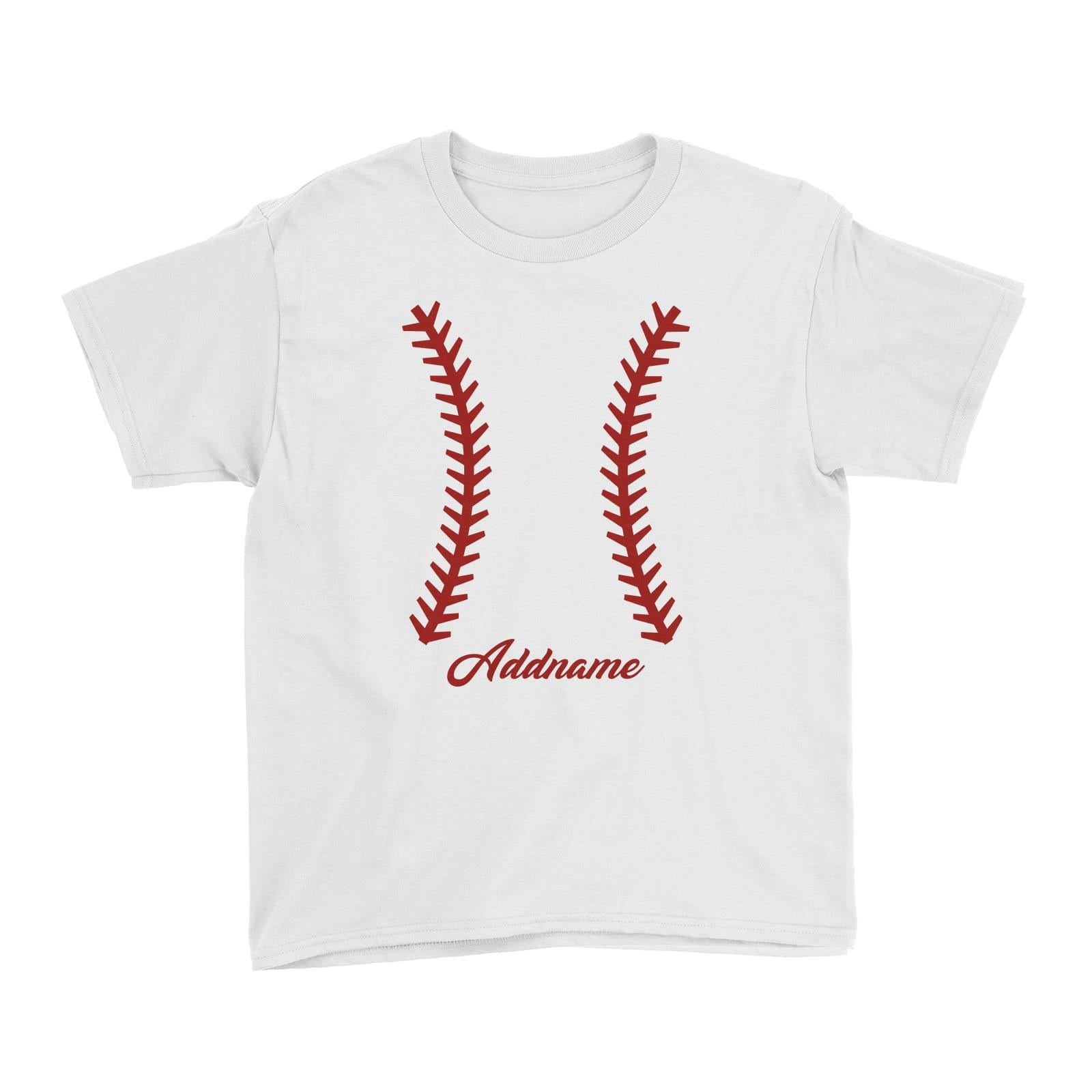 Baseball Team Stitch Kid's T-Shirt