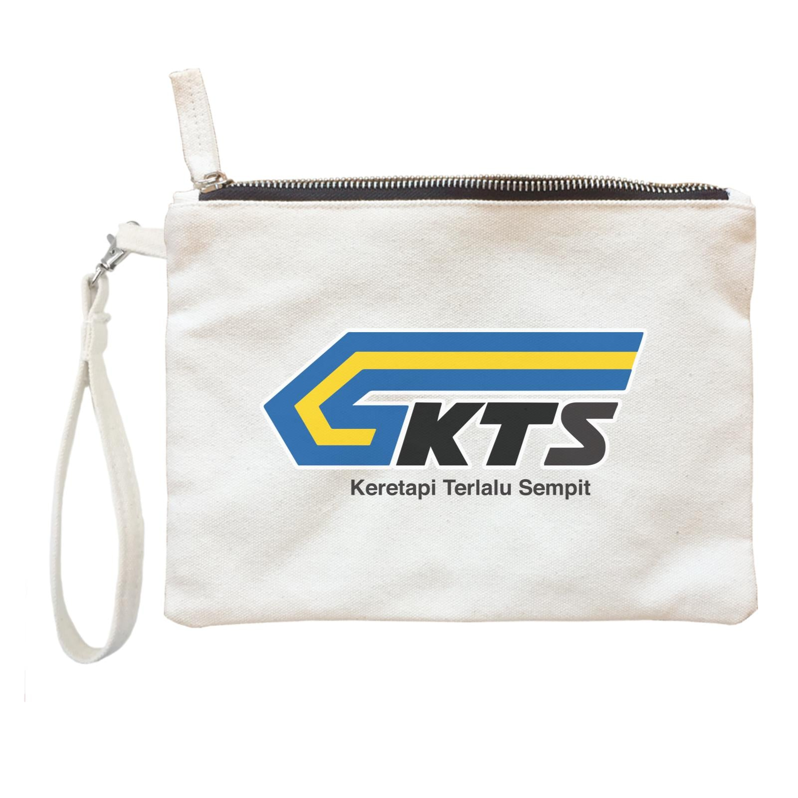 Slang Statement KTS Accessories Zipper Pouch with Handle