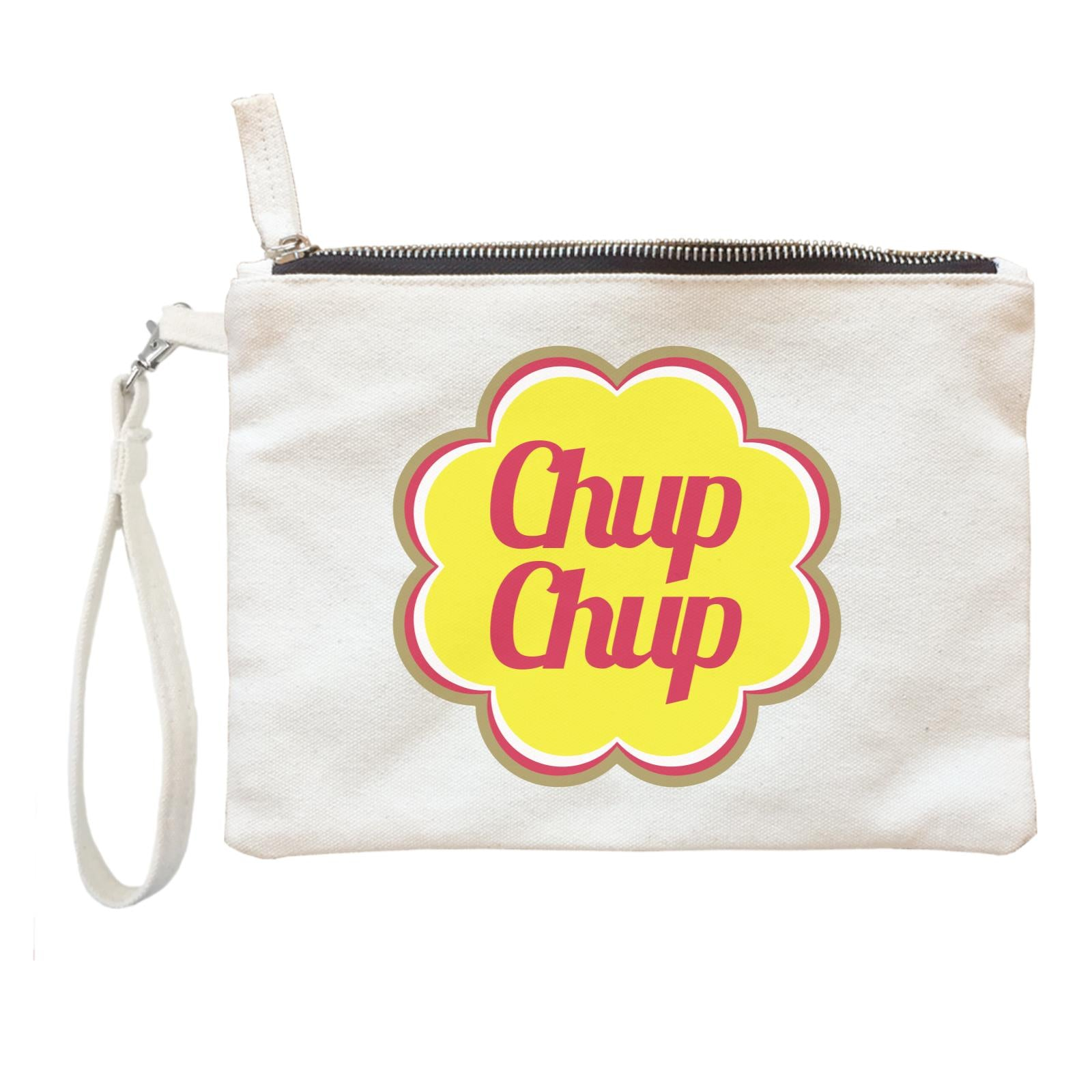 Slang Statement Chup Chup Accessories Zipper Pouch with Handle