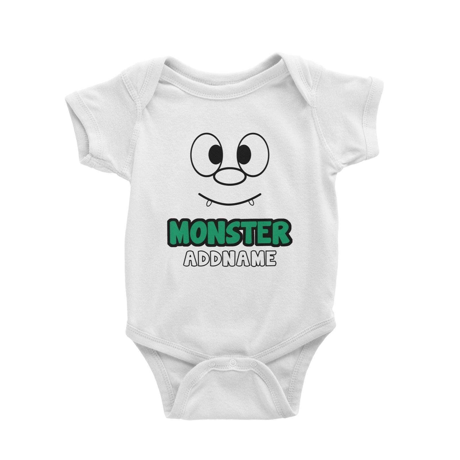 Monster Baby Romper