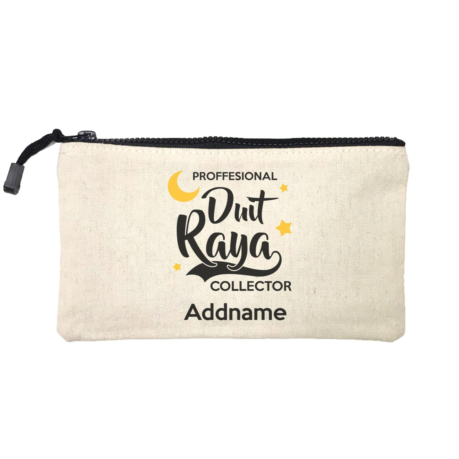 Raya Typography Professional Duit Raya Collector Addname Mini Accessories Stationery Pouch