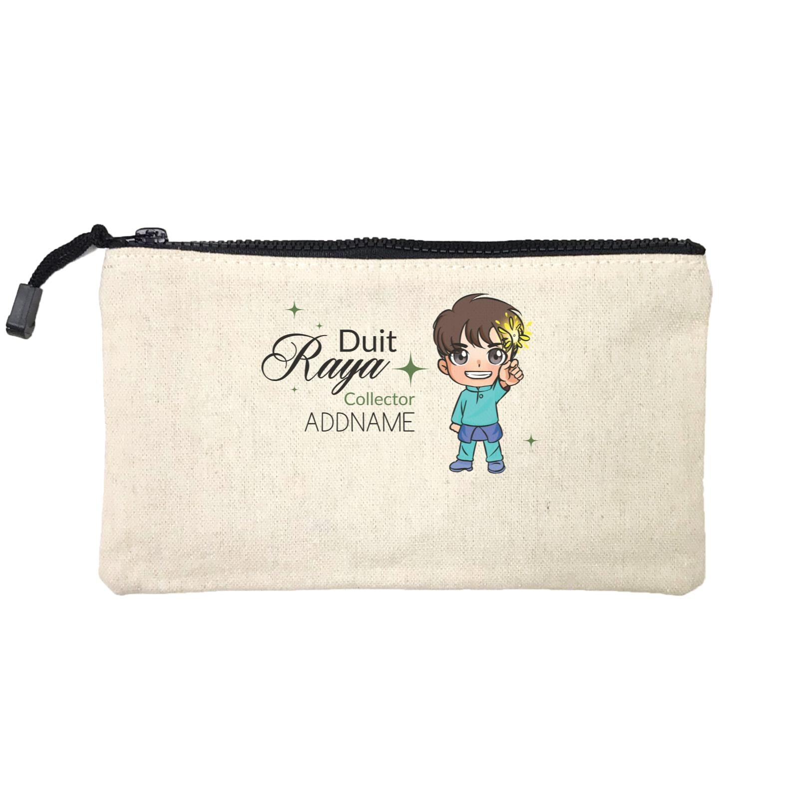 Raya Chibi Little Boy Duit Raya Collector Addname Mini Accessories Stationery Pouch