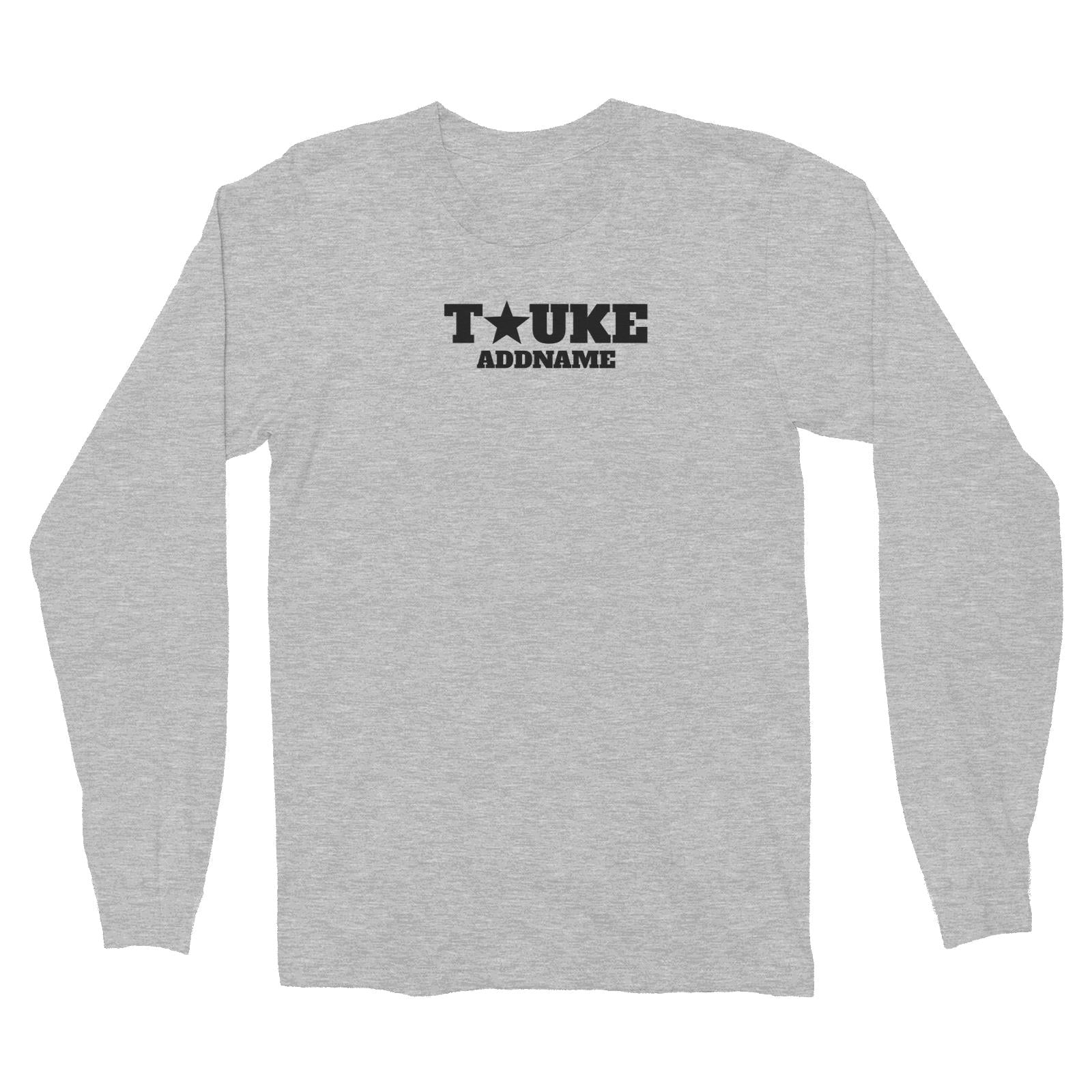 Tauke Star Long Sleeve Unisex T-Shirt