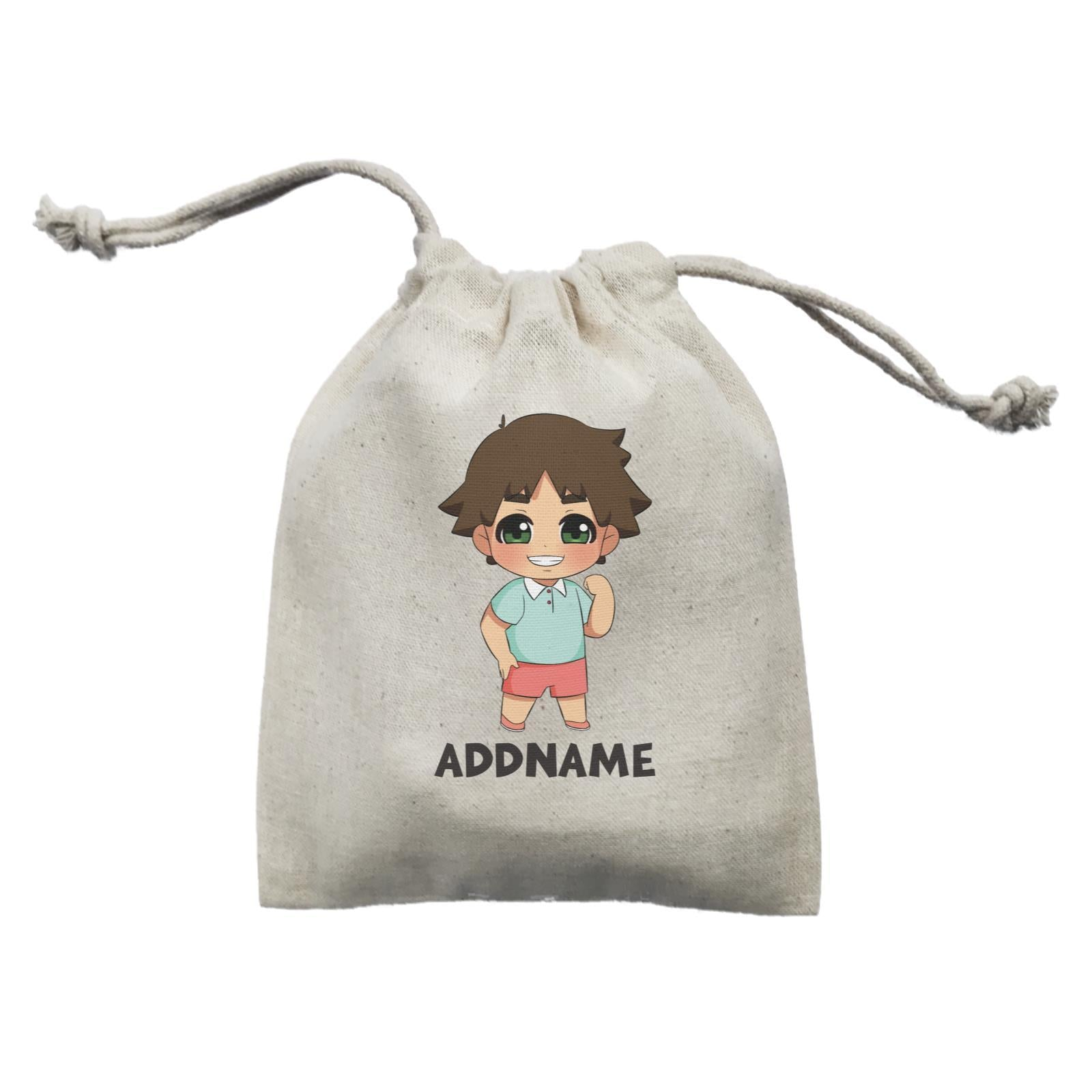 Children's Day Gift Series Little Boy Addname  Mini Pouch