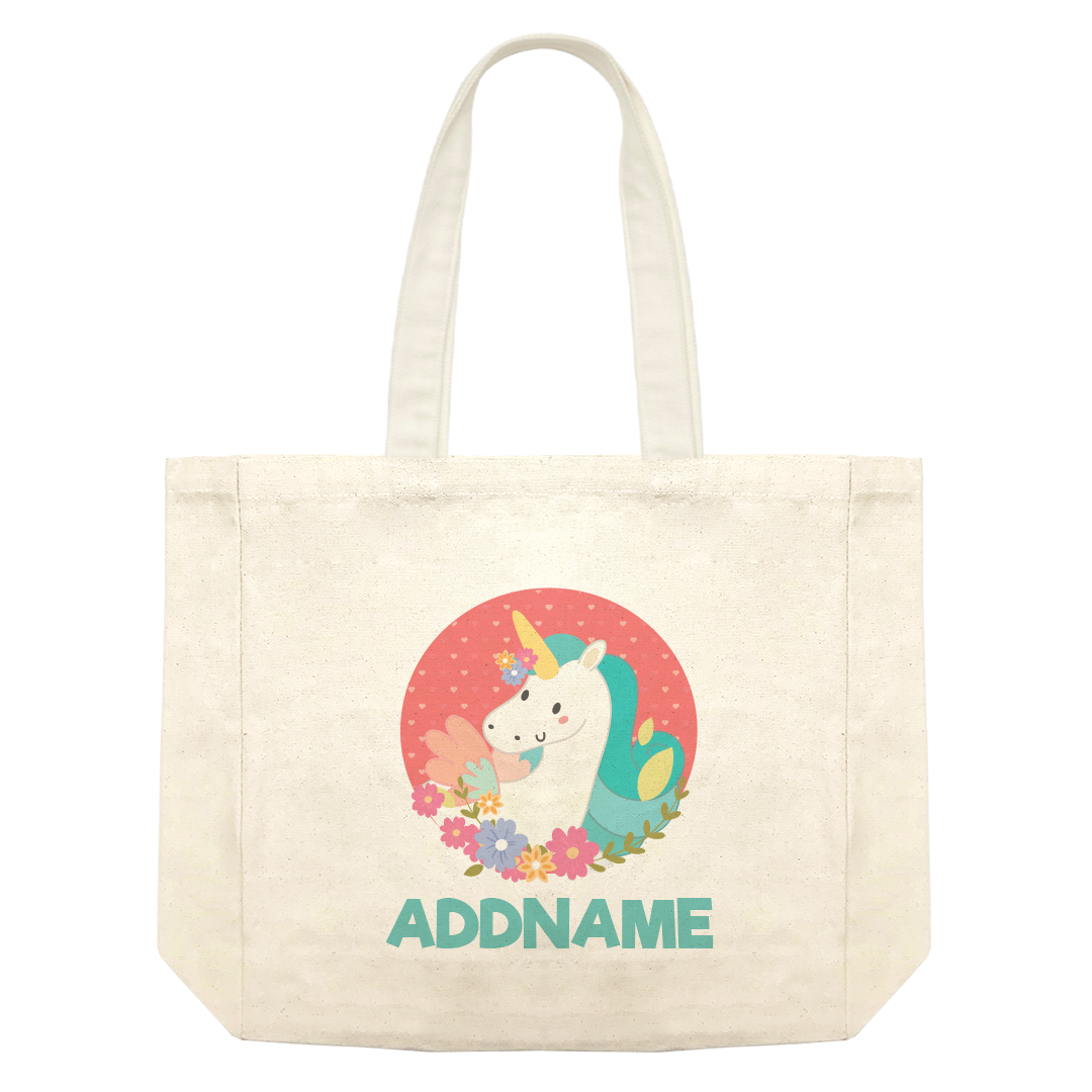Fabulous Unicorn Shopping Bag