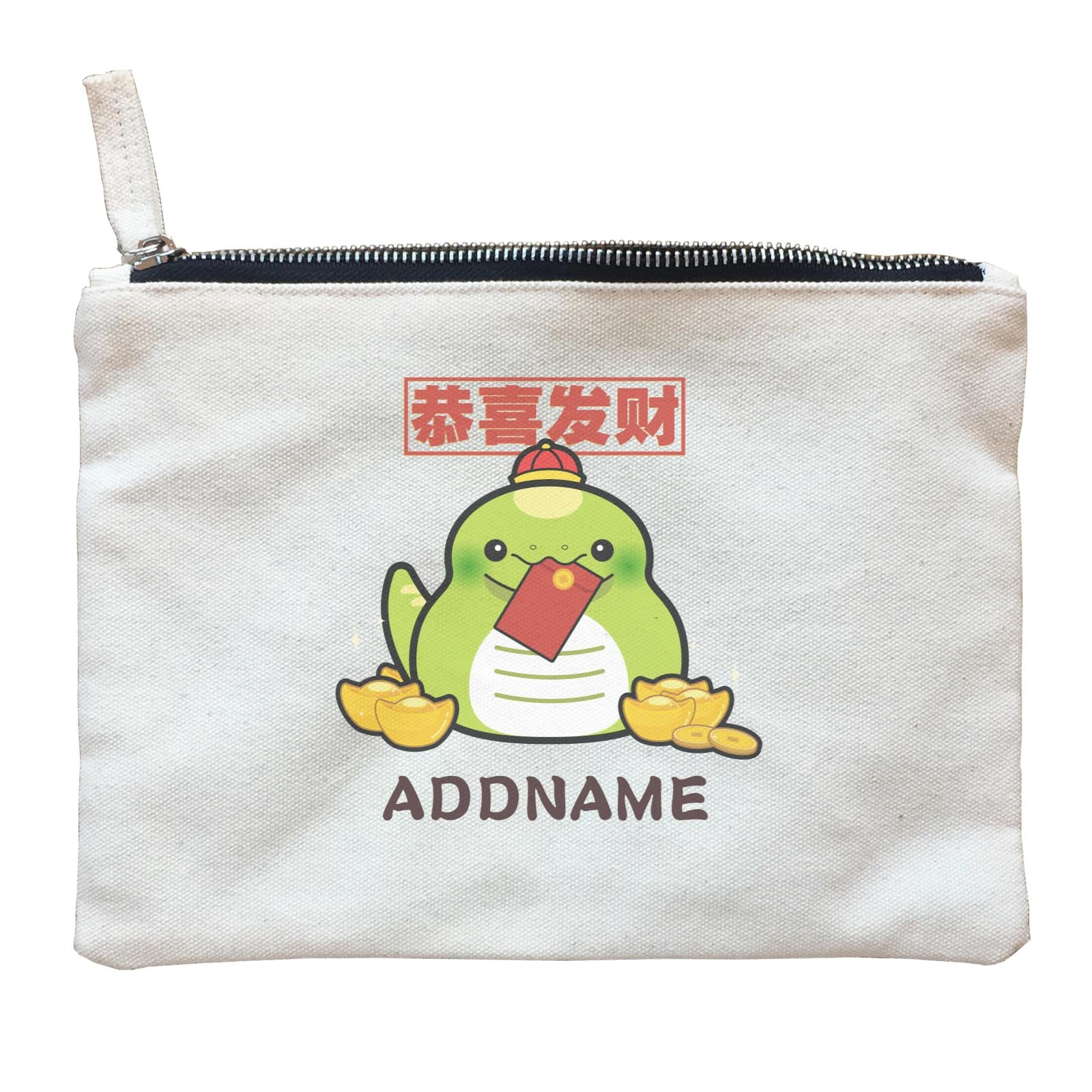 Ultra Cute Zodiac Series Snake Accessories Zipper Pouch
