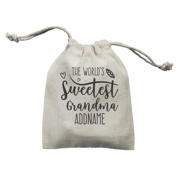 Sweet Mom Quotes 3 The Worlds Sweetest Grandma Addname Mini Accessories Mini Pouch