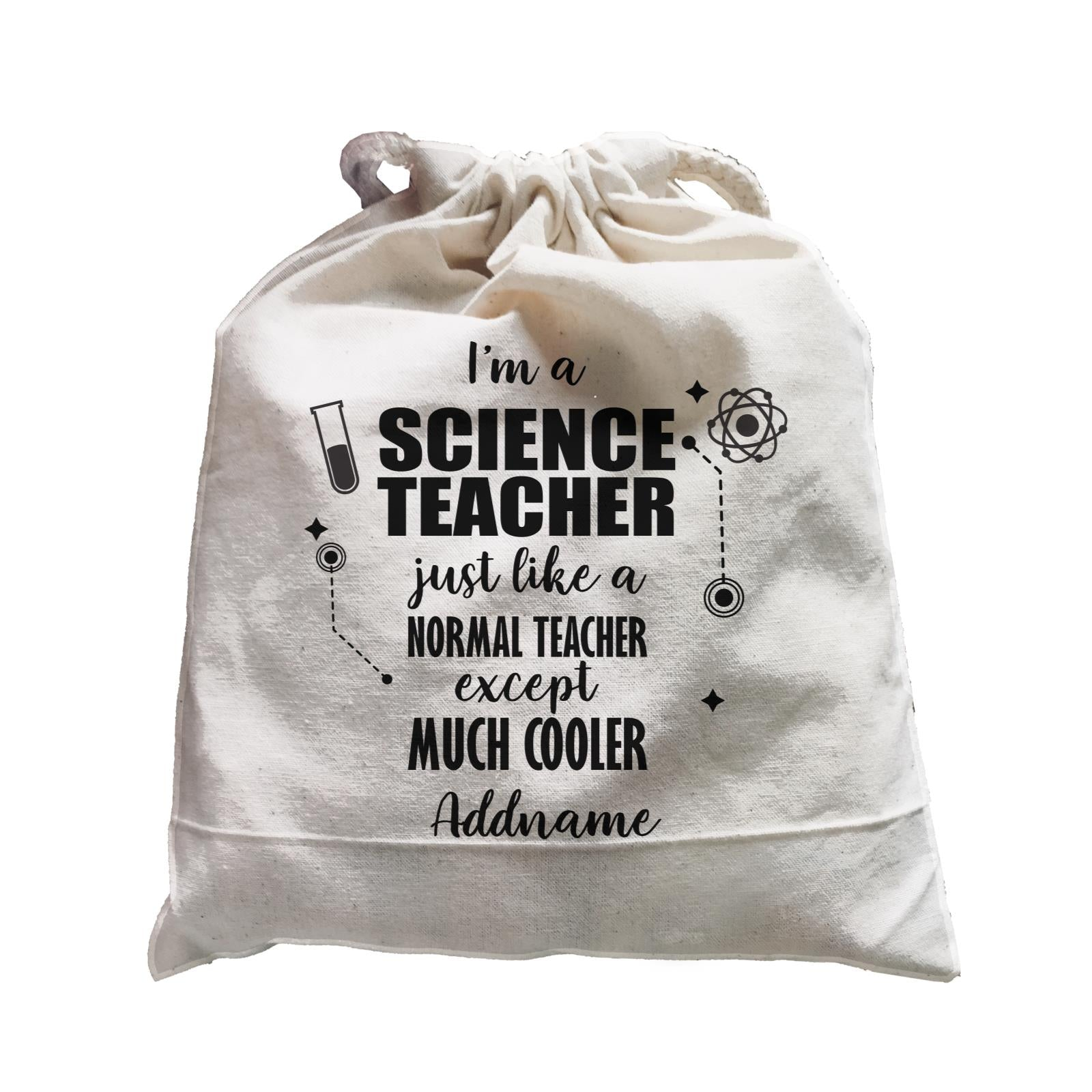 Subject Teachers 1 I'm A Science Teacher Addname Satchel