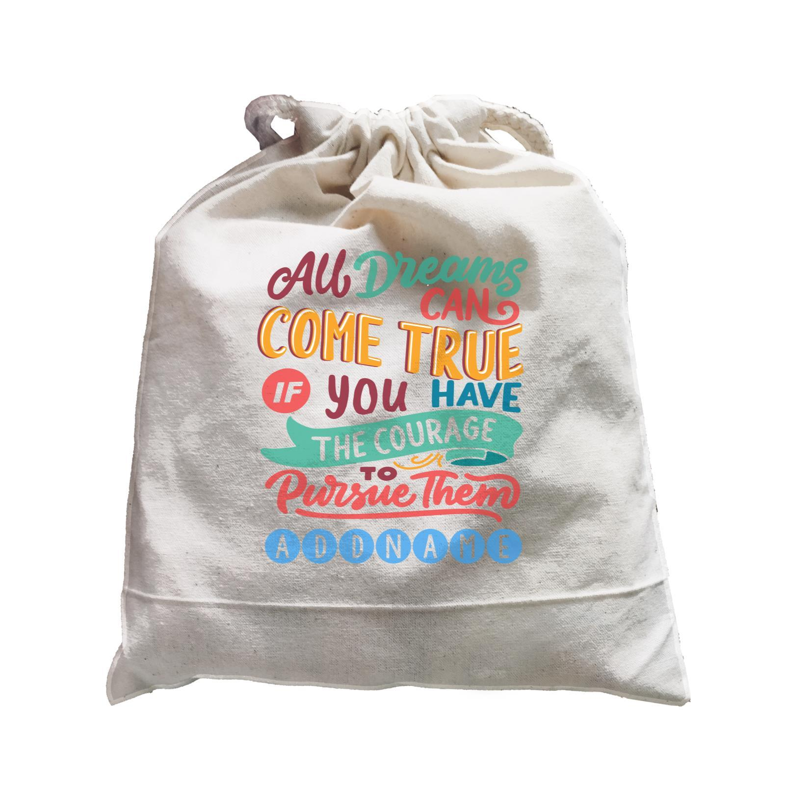 Children's Day Gift Series All Dreams Can Come True Addname  Satchel