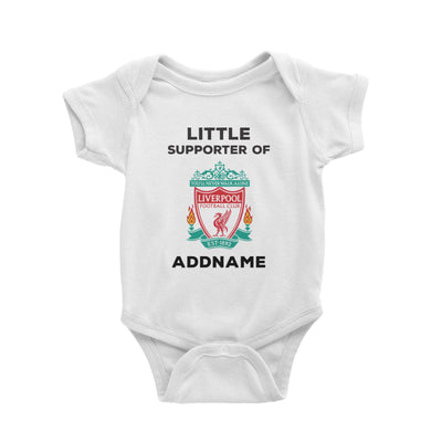 Liverpool FC Little Supporter Personalizable with Name Baby Romper