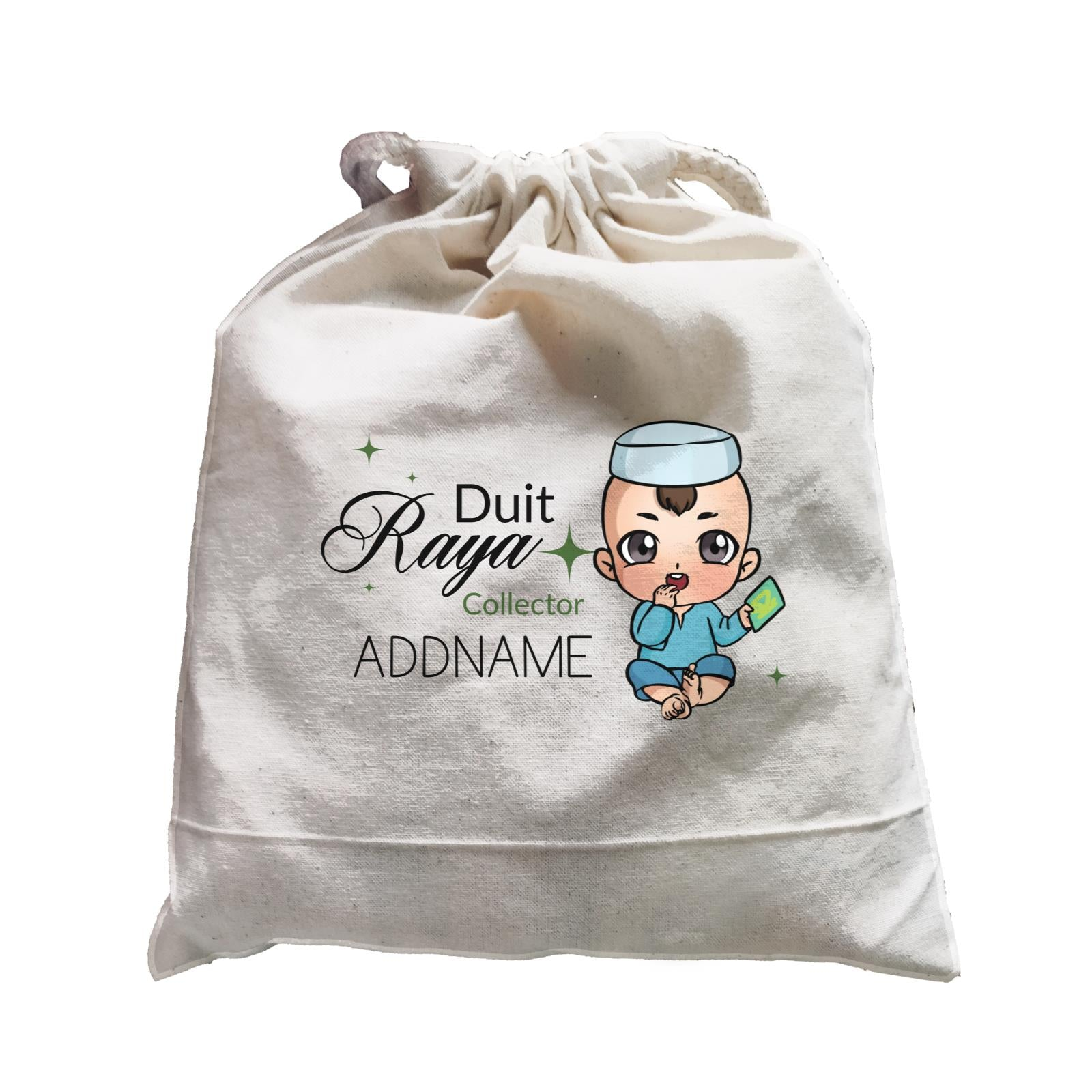 Raya Chibi Baby Baby Boy Duit Raya Collector Addname Accessories Satchel
