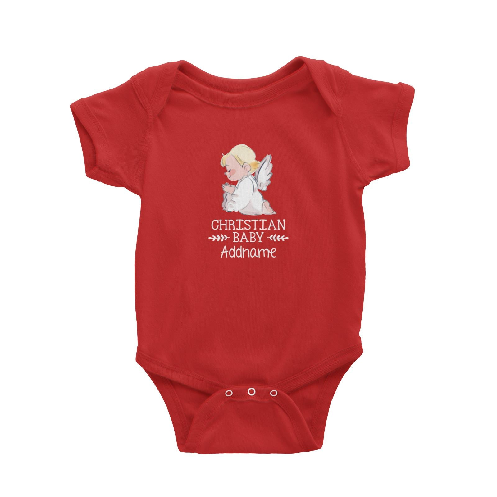 Christian Baby Angel Christian Baby Addname Baby Romper