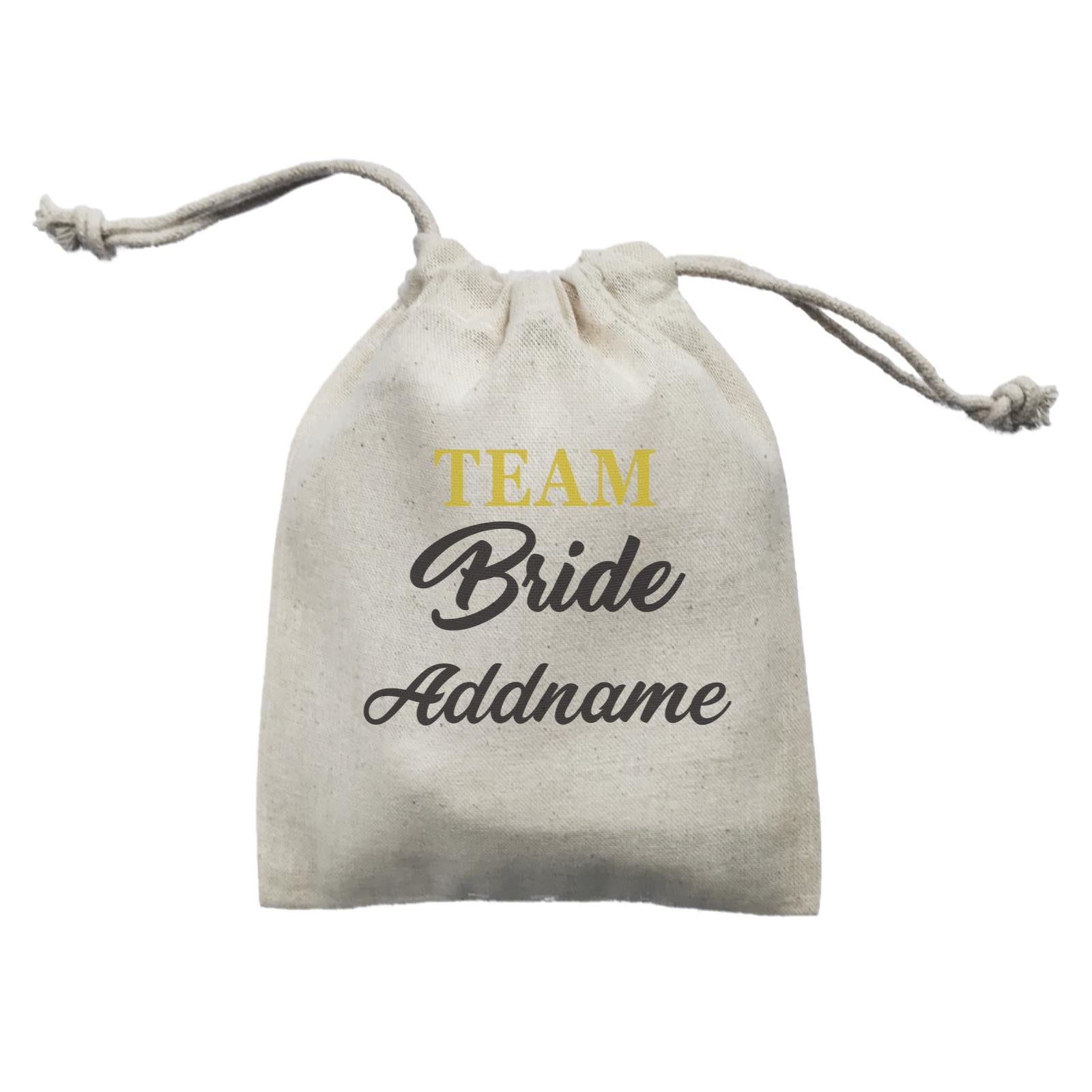 Bridesmaid Team Team Bride Addname Mini Accessories Mini Pouch
