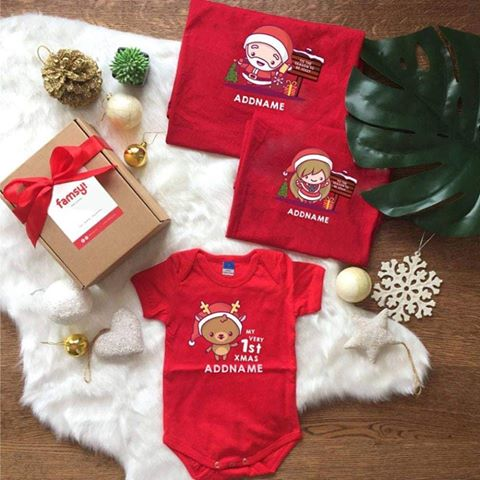 Christmas Cute Jolly Series Design Family Gift Set