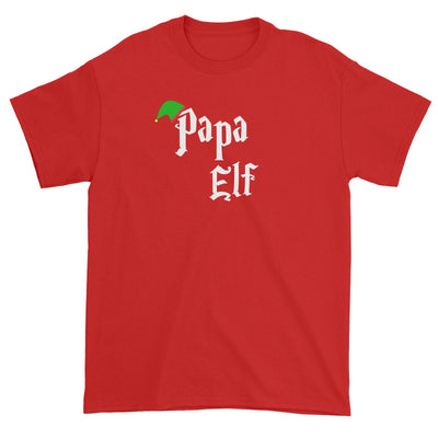 Papa Elf With Hat Unisex T-Shirt Christmas Matching Family