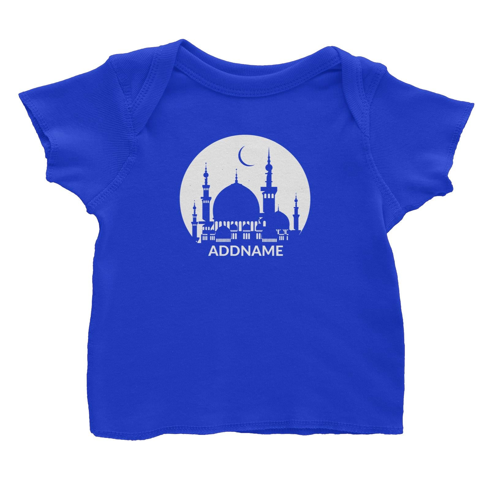 Mosque Moon Baby T-Shirt Raya Personalizable Designs