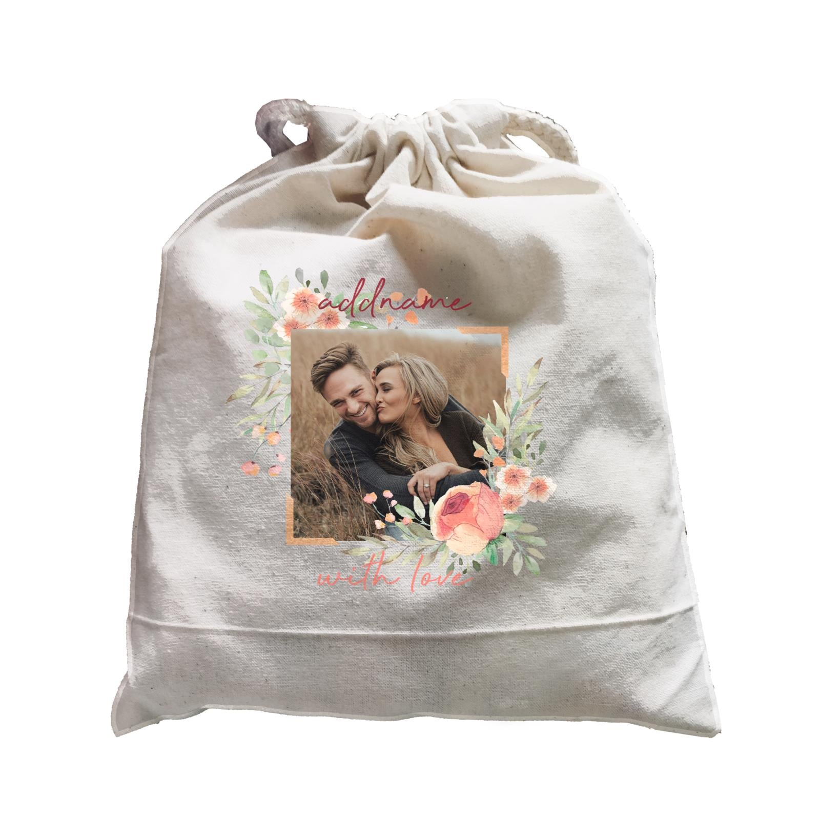 Photo Gift Series Romantic Floral Decoration Satchel