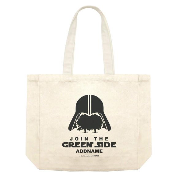 Join The Green Side Addname Shopping Bag