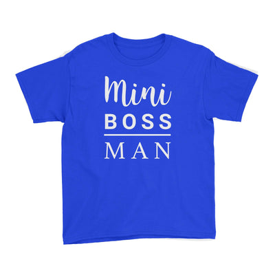 Mini Boss Man Kid's T-Shirt Matching Family