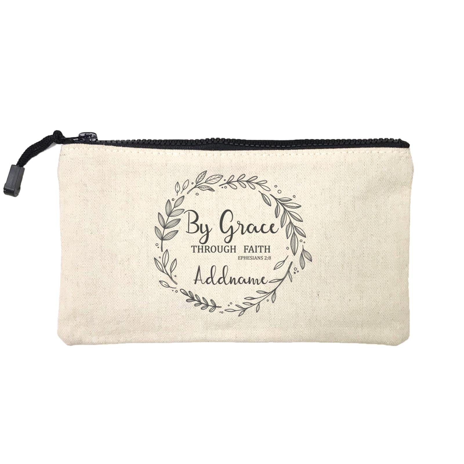 Christian Series By Grace Throug Faith Ephensians 2.8 Addname Mini Accessories Stationery Pouch