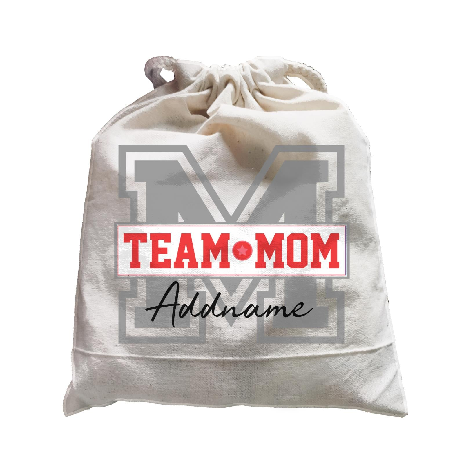 Team Mom Addname Satchel