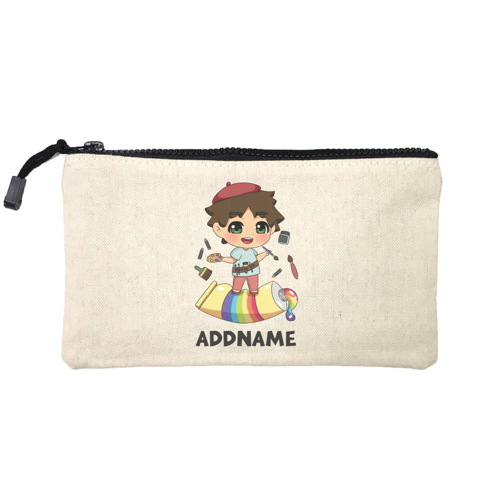 Children's Day Gift Series Artist Little Boy Addname SP Stationery Pouch
