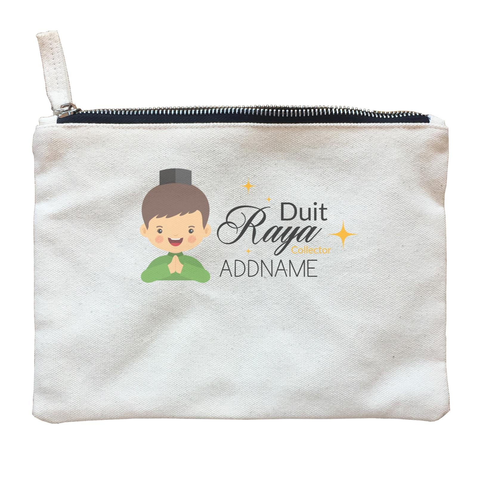 Duit Raya Collector Man Zipper Pouch
