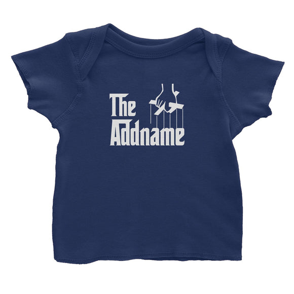 The Addname Baby T-Shirt Godfather Matching Family Personalizable Designs