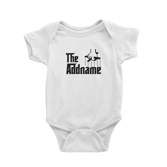 The Addname Baby Romper Godfather Matching Family Personalizable Designs
