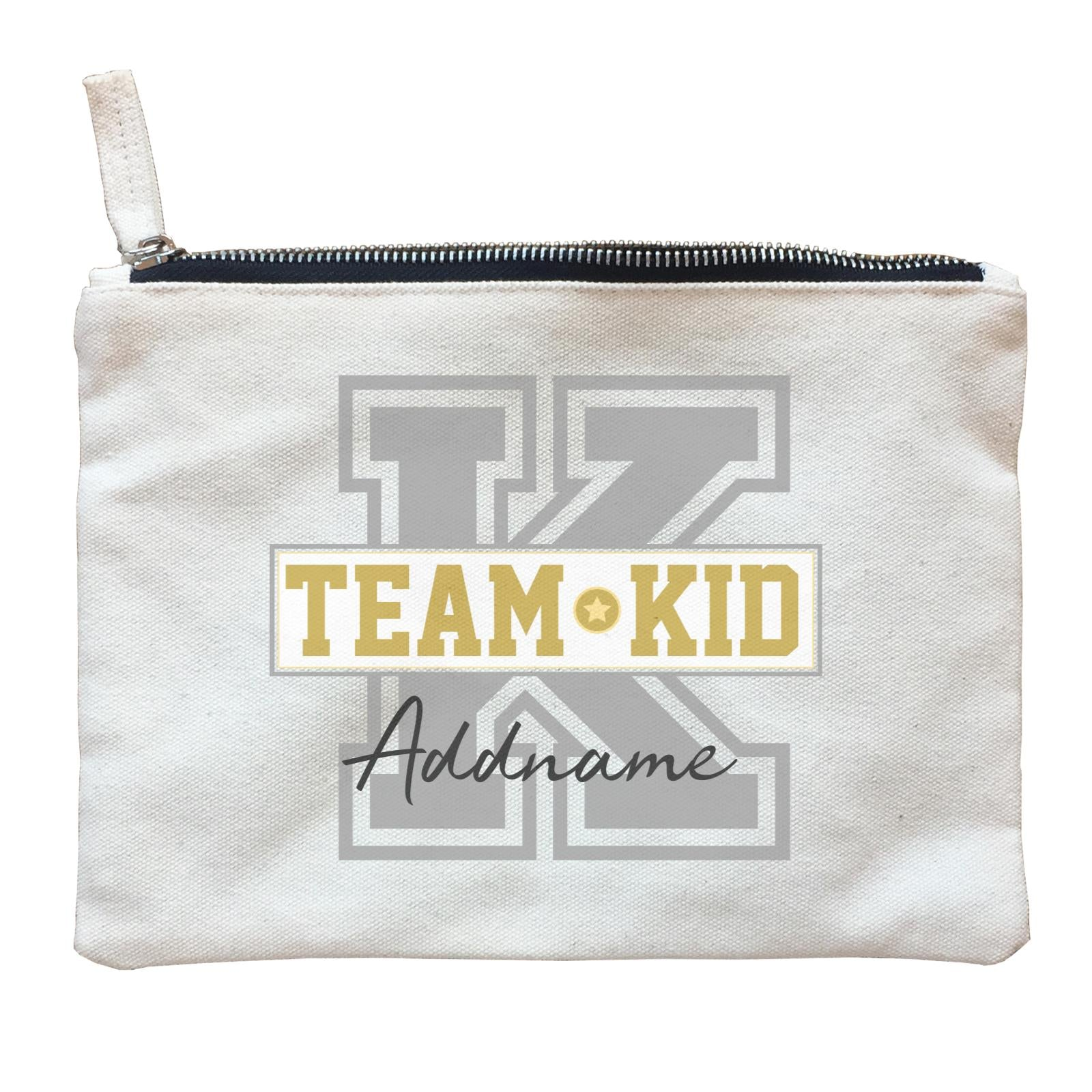 Team Kid Addname Zipper Pouch