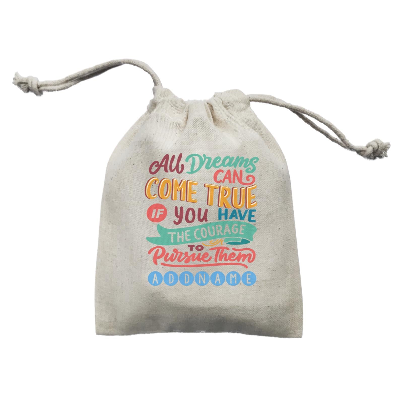 Children's Day Gift Series All Dreams Can Come True Addname  Mini Pouch