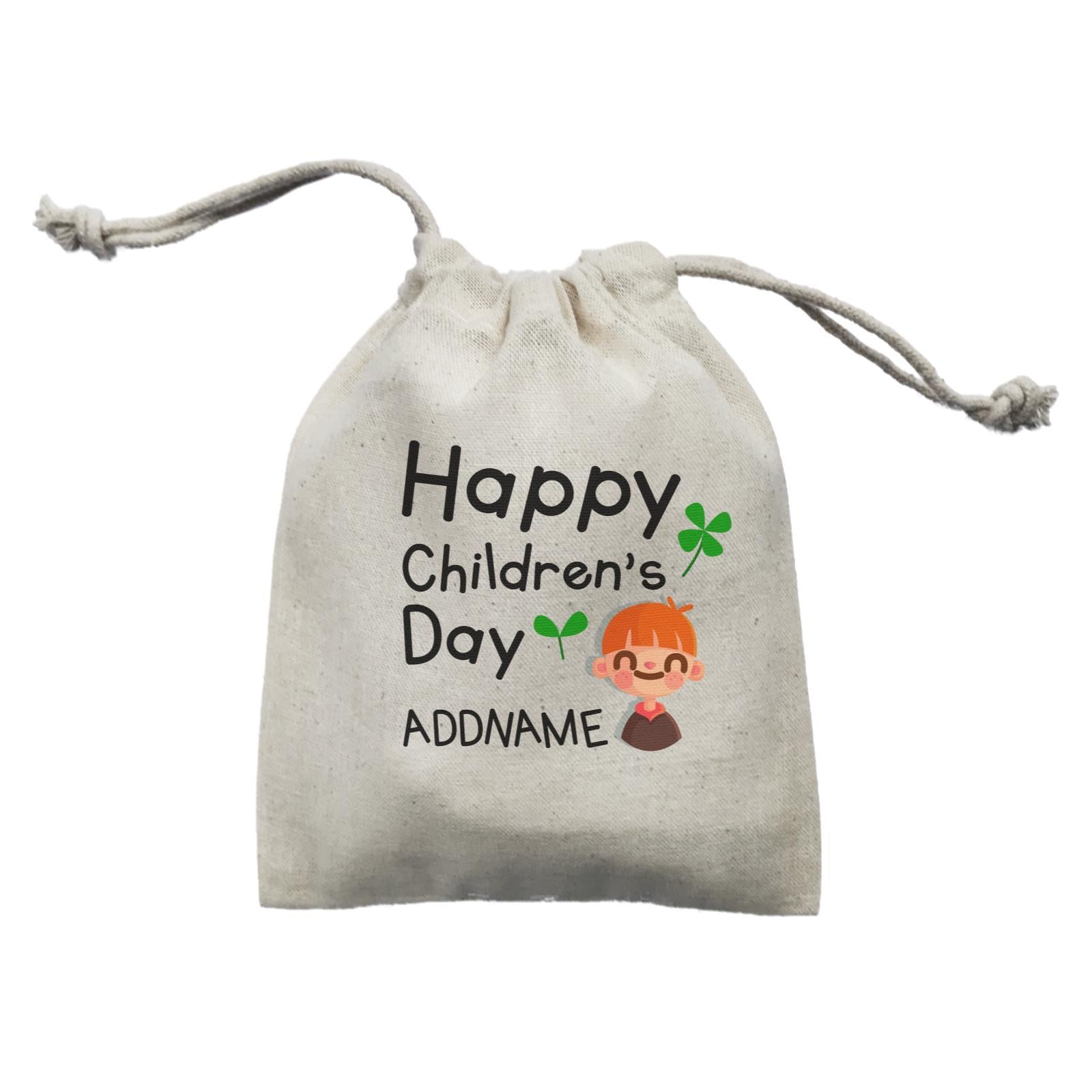 Children's Day Gift Series Happy Children's Day Cute Boy Addname  Mini Pouch