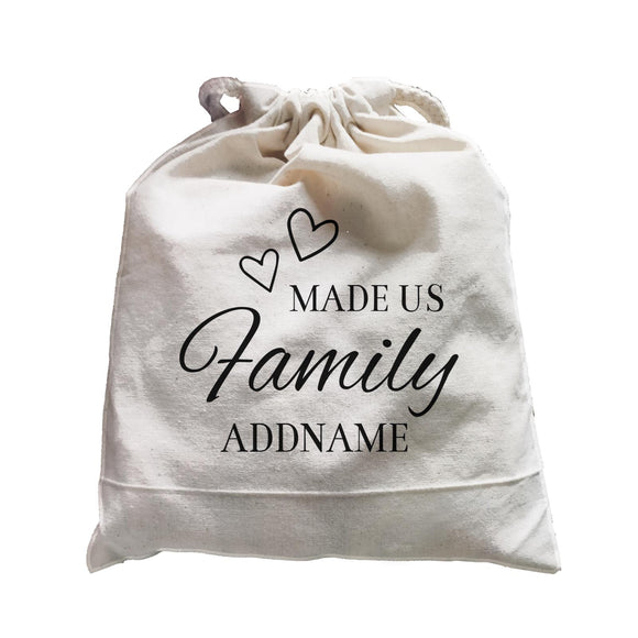 Love Made Us Family Addname Accessories Satchel
