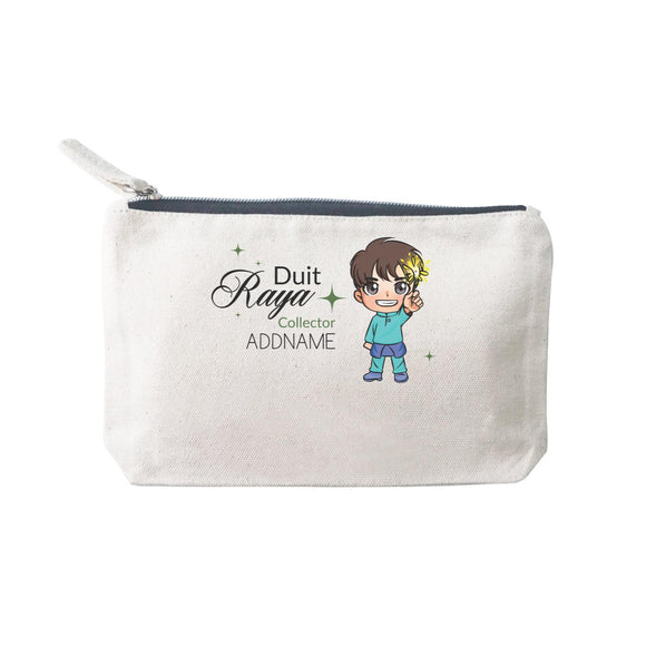 Raya Chibi Little Boy Duit Raya Collector Addname Mini Accessories Stationery Pouch 2