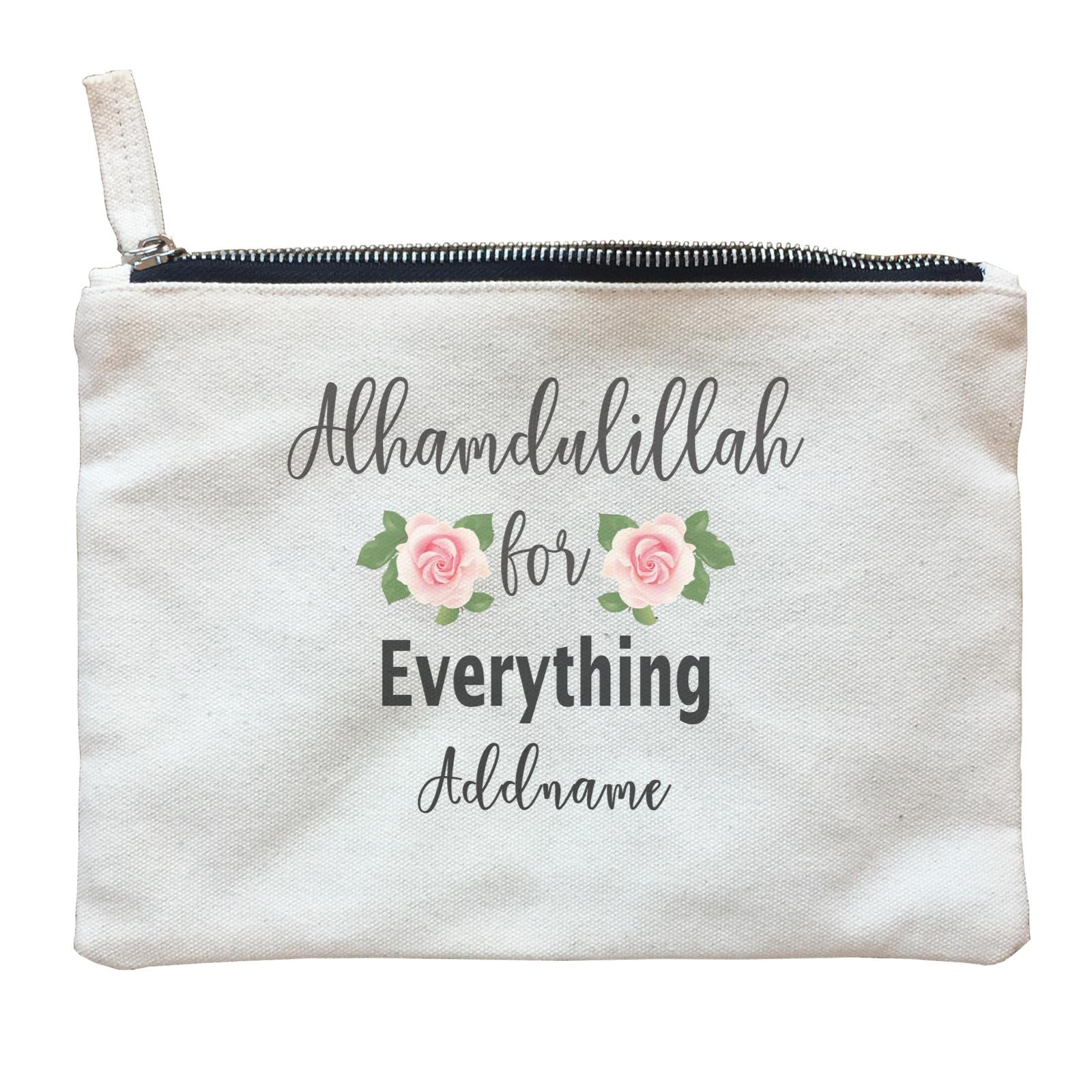 inspiration quotes alhamdulillah for everything add zipper