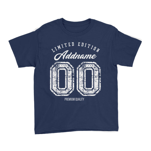 Limited Edition Premium Quality Personalizable with Name and Number Kid's T-Shirt