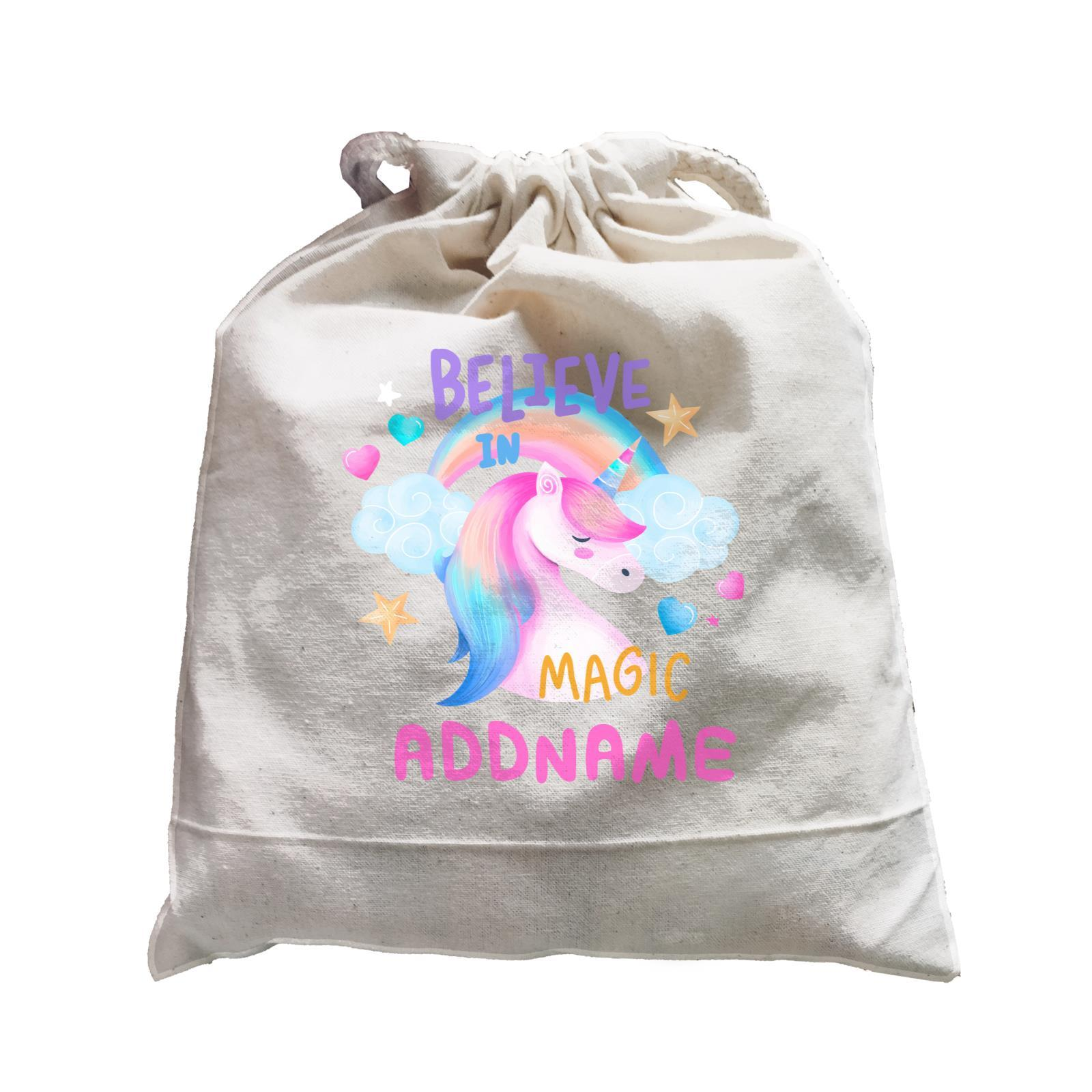 Children's Day Gift Series Believe In Magic Unicorn Addname  Satchel